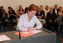 Sharon Hament jongste notaris